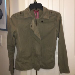 Girls army green jacket